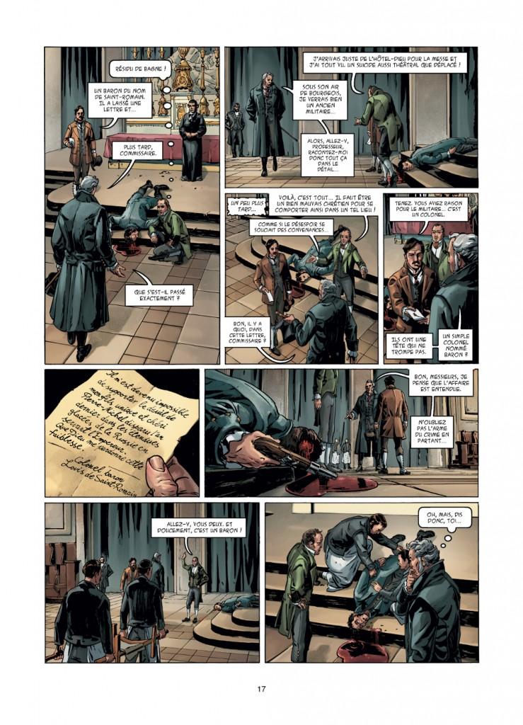 Pour Vidocq, l'étrange suicide d'un baron d'Empire dans la cathédrale Notre-Dame de Paris n'est que le début d'une longue enquête.
