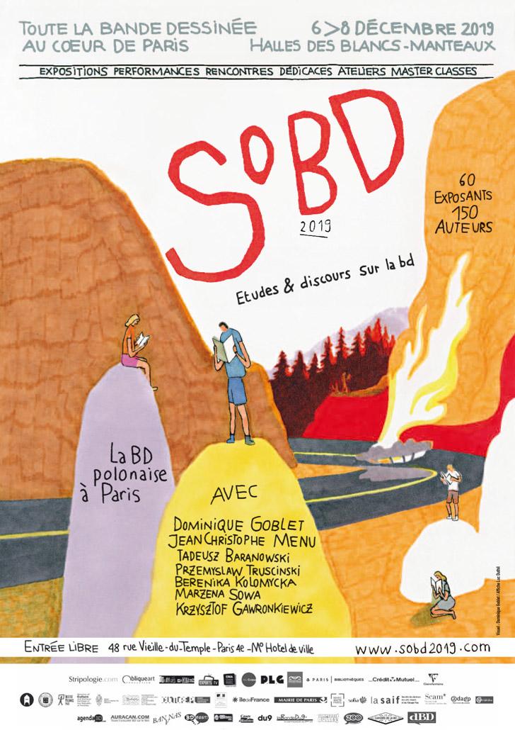 Dominique Goblet, JC Menu et la Pologne, pour un SoBD 2019 appétissant