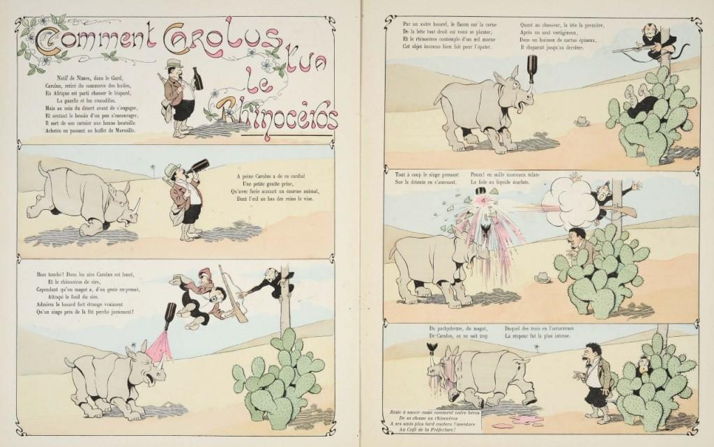 Rabier - Comment Carolus tua le rhinocéros
